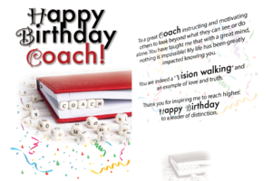 Happy Birthday Coach Card (10×7) [Musical]